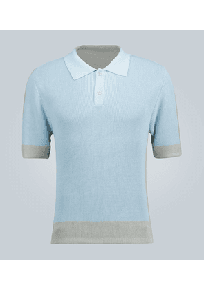 Le Polo en Maille knitted polo