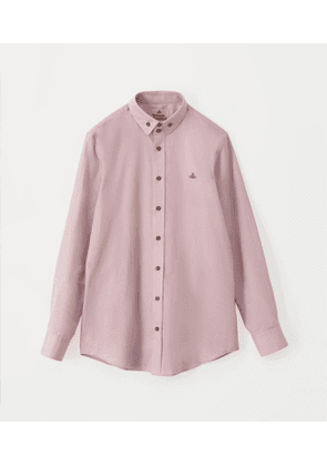 Two Button Krall Shirt Pink