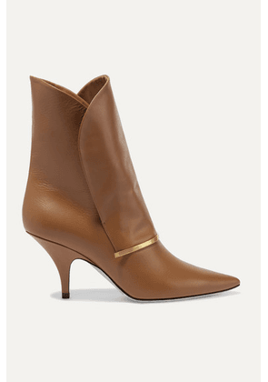 Givenchy - Bar Leather Ankle Boots - Tan