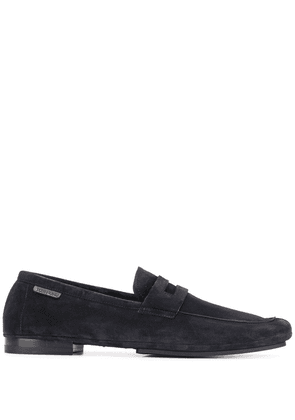 Tom Ford penny strap loafers - Blue