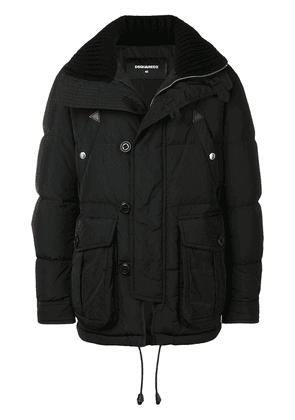 Dsquared2 shell puffer jacket - Black