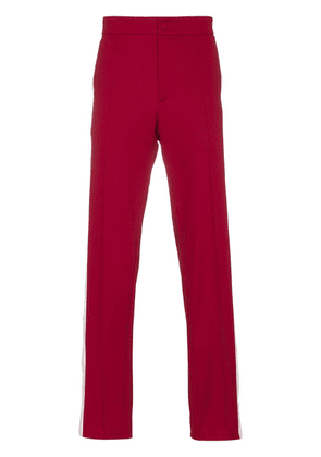 Valentino Contrasting Band Track Pants - Red