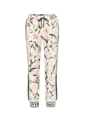 Floral trackpants