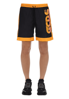 Huge Logo Tech Shorts