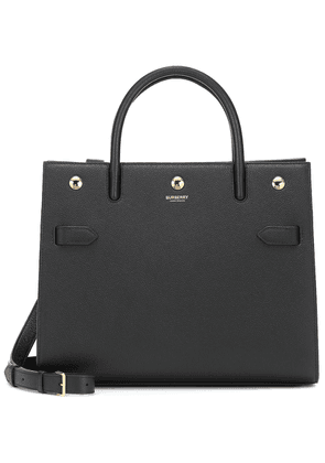Title Small leather tote