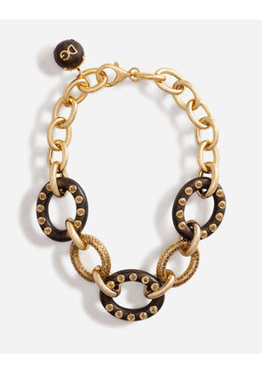 Dolce & Gabbana Bijoux - CHAIN CHOKER NECKLACE GOLD