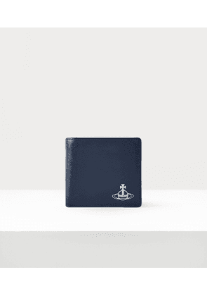 Kent Man Wallet With Coin Pocket Blue