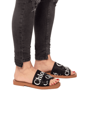 Chloe 'Woody' Slides Women's Multicolor