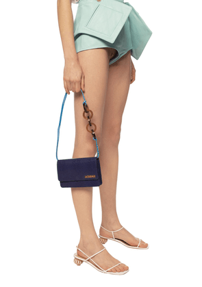 Jacquemus 'Le Riviera' Shoulder Bag Women's Navy Blue