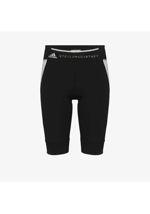 Adidas Womens Black Contrast Panel Shorts