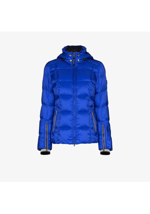 Bogner Womens Blue Sanne Down Ski Jacket