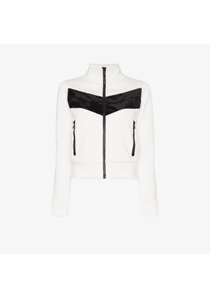 Fusalp Womens White Venus Zipped Layer Jacket