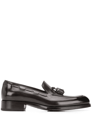 Tom Ford tassel detailed leather loafers - Brown