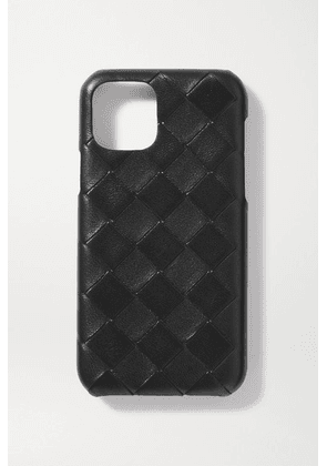Bottega Veneta - Intrecciato Textured-leather Iphone Xs Max Case - Black