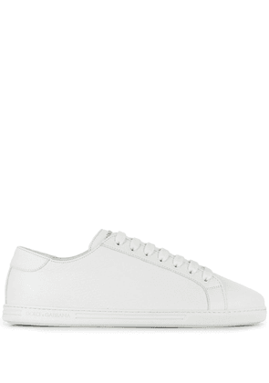 Dolce & Gabbana logo plaque low-top sneakers - White
