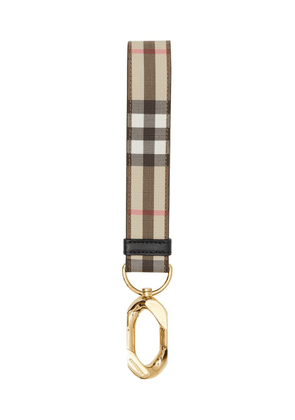 Burberry Vintage Check bag charm - NEUTRALS