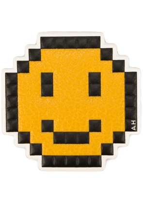 Anya Hindmarch 'Pixel Smiley' sticker - Yellow