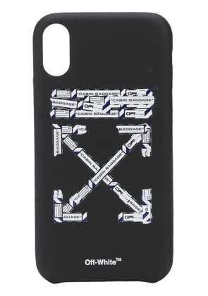 Off-White airport iPhone XR case - Black