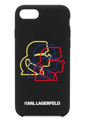 Karl Lagerfeld Bauhaus Cameo iPhone 8 case - Black