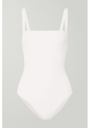 Faithfull The Brand - Phoebe Ribbed Swimsuit - White