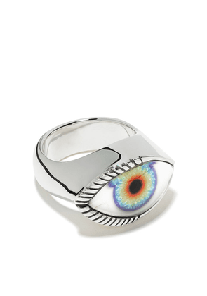 The Great Frog Eclipse Eye ring - SILVER