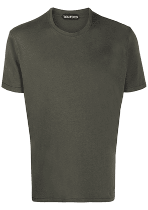 Tom Ford crew neck relaxed-fit T-shirt - Green