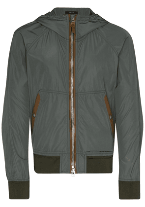 Tom Ford hooded shell jacket - Green