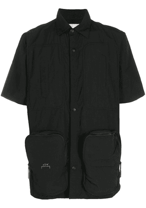 A-COLD-WALL* short-sleeve fitted shirt - Black