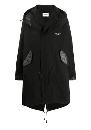 AMBUSH oversized raincoat - Black