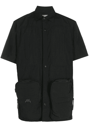A-COLD-WALL* short sleeved snap fastened shirt - Black