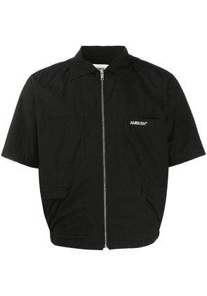 AMBUSH zipped short jacket - Black
