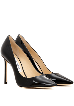 Romy 100 patent leather pumps