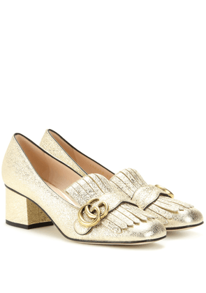 Marmont leather loafer pumps