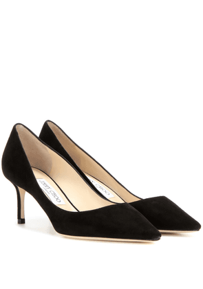 Romy 60 suede pumps