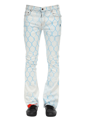 Fence Skinny Stacked Cotton Denim Jeans