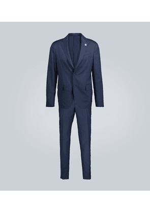 Easy Wear stretch-wool travel suit