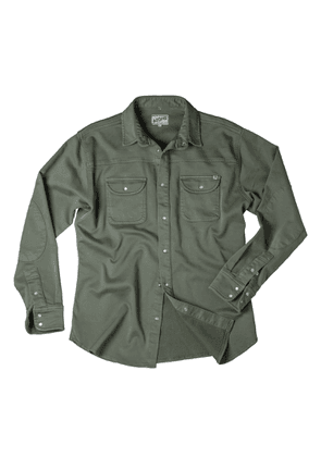 &SONS Trading Co - Sunday Shirt Army Green