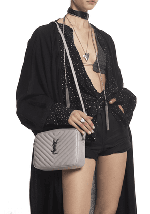 Saint Laurent 'Lou' Shoulder Bag Women's Grey