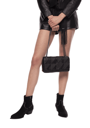 Saint Laurent 'Jamie' Shoulder Bag Women's Black