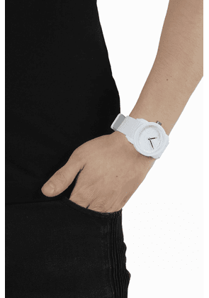 Diesel Plastic Watch Unisex White