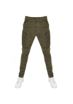 G Star Raw Rovic Slim Trousers Green