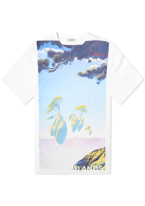 Valentino x Roger Dean Floating Island Tee
