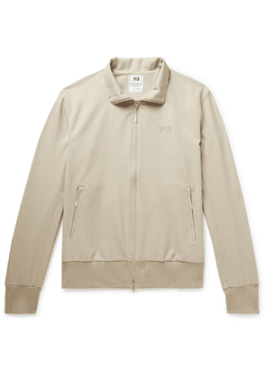 Y-3 - Wool-blend Track Jacket - Neutrals