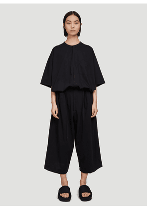 Y-3 Oversized Jumpsuit in Black size S