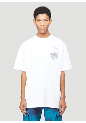 Off-White Golden Ratio T-Shirt in White size L