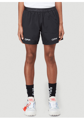 Off-White Active Track Shorts in Black size XL