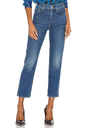 7 For All Mankind High Waist Cropped Straight. Size 28,29,30,24,25,26.