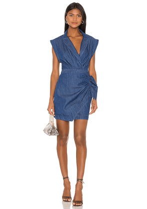 7 For All Mankind Blazer Dress With Ruffle. Size S,M,L.