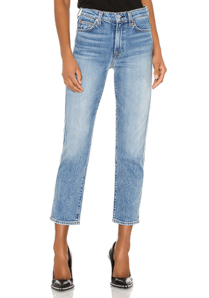 7 For All Mankind High Waist Cropped Straight. Size 25,26,30,27,28,29.