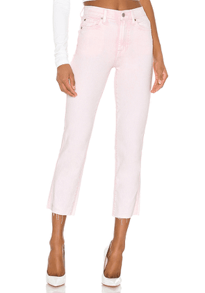 7 For All Mankind High Waist Cropped Straight. Size 25,26,27,28,29,30.